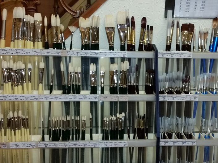 Victoria Art Gallery Brushes