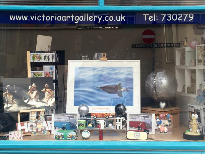 victoria art gallery shop front