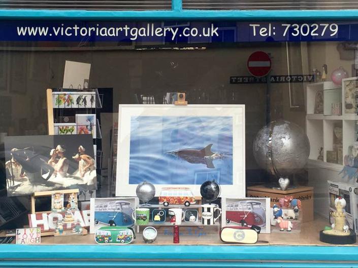 victoria art gallery shop front