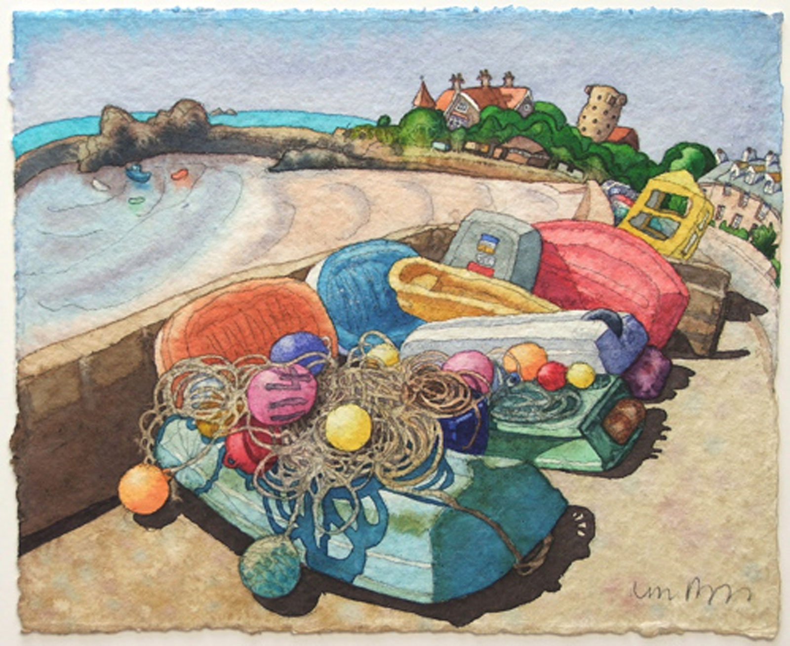 Boats & Buoys, La Rocque
