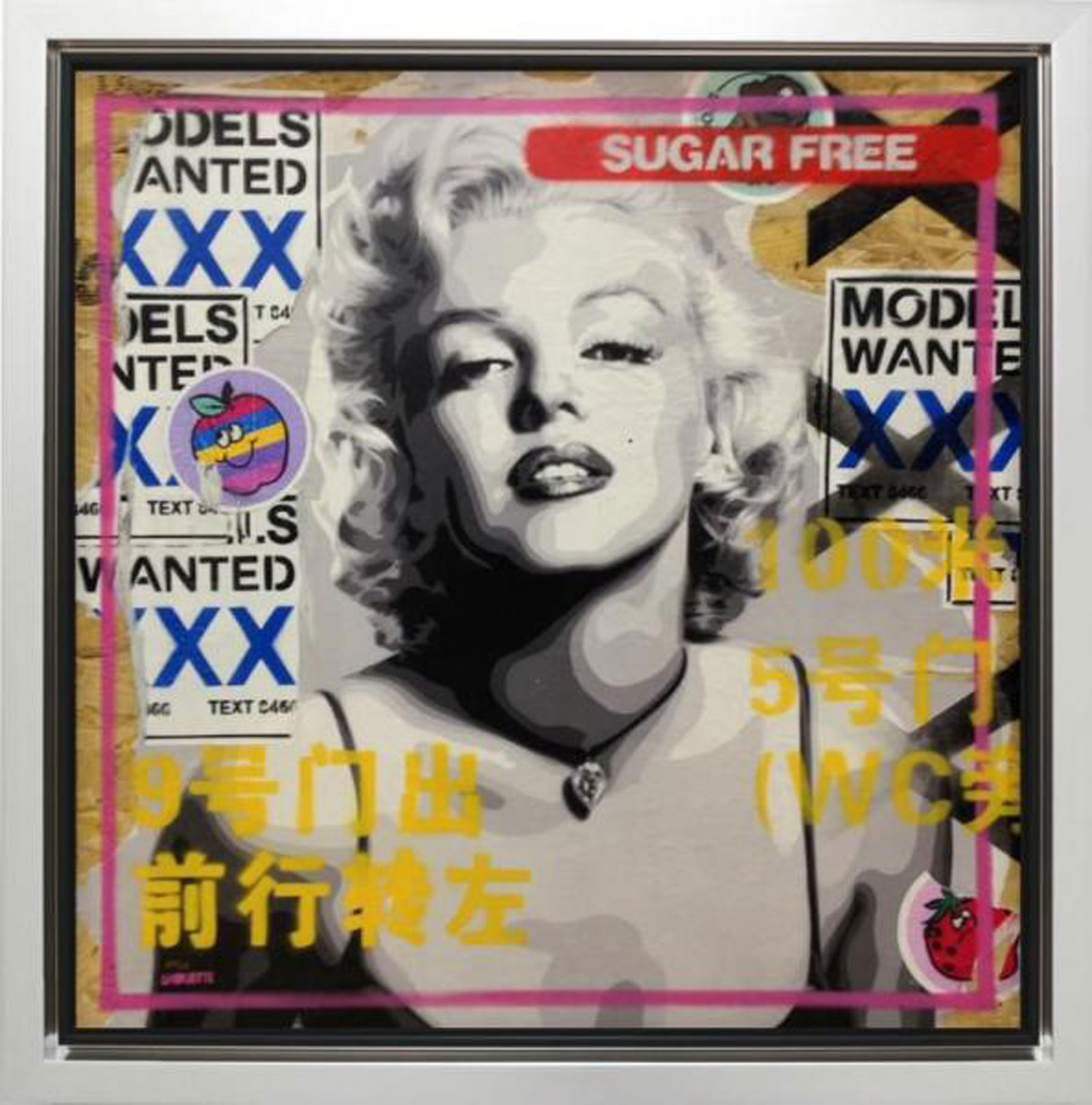 Marilyn Paste Up Edition