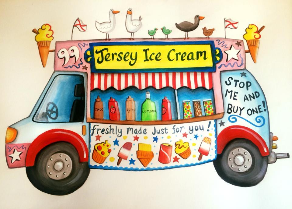 Jersey Ice Cream Van Sold Victoria Art Gallery
