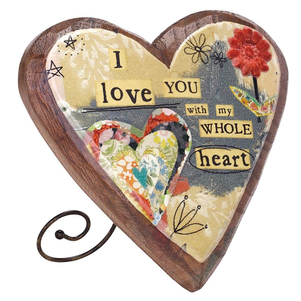 I Love You – Wooden Heart – sold out