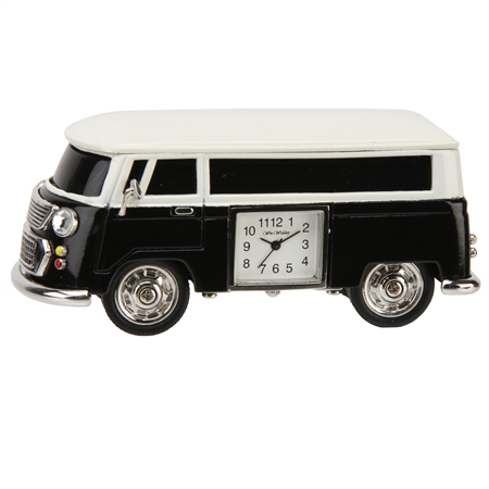 V W Camper Clock – Black