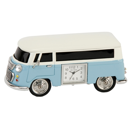 V W Camper Clock – Blue