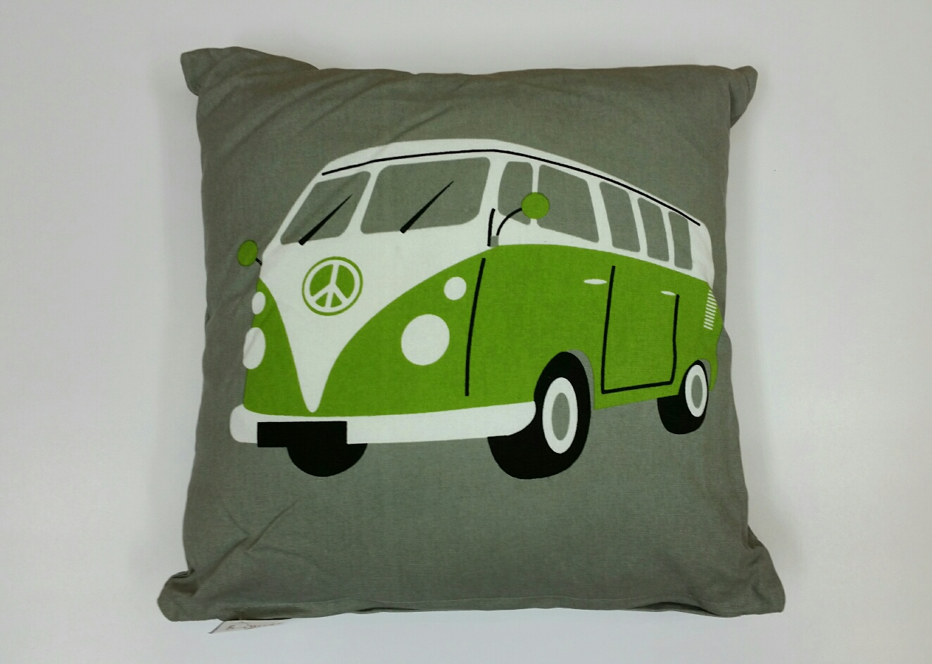 V W Camper Van Cushion – Green