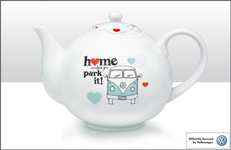 V W Camper Van Tea Pot
