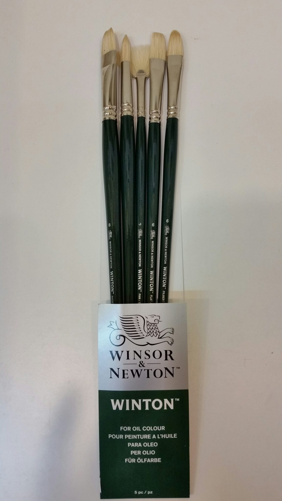 Brush Set – Winsor & Newton Winton Oil Brush Set